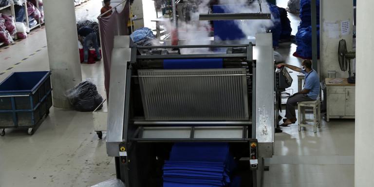 Fabric Finishing Area