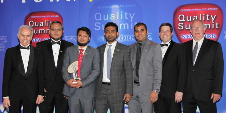 International Quality Summit Award 2013